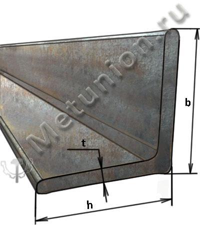 Уголок стальной, уголок металлический, уголок равнополочный, уголок горячекатаный